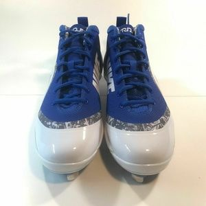 Nike Force Blue White Baseball 917837-444 Size 13